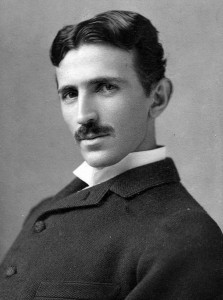 It's all about vibrations. Nicola Tesla