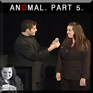 "Mentalist Ehud Segev performs his critically acclaimed show ""Anomal"" Part 5"
