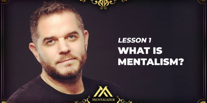 How to be a Mentalist? Full lesson by world renowned mentalizer and motivational speaker Ehud Segev